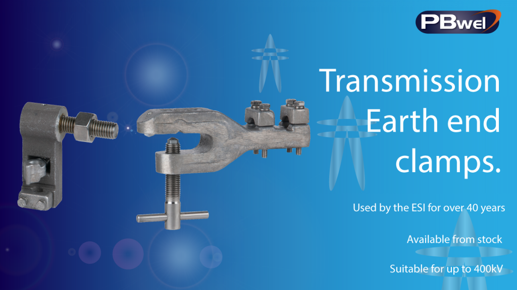 transmission line earth clamps