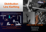 Distribution Line Portable Earthing
