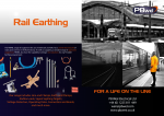 Rail Portable Earthing